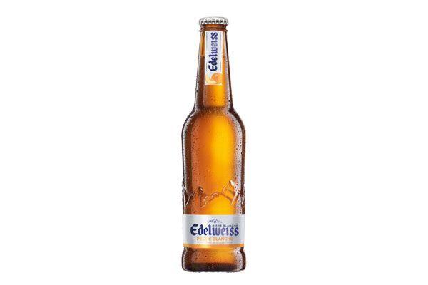 Edelweiss Pêche Blanche et Fleur de Génépi #biere #beer #gastronomie #gastronomie #boisson #drinks