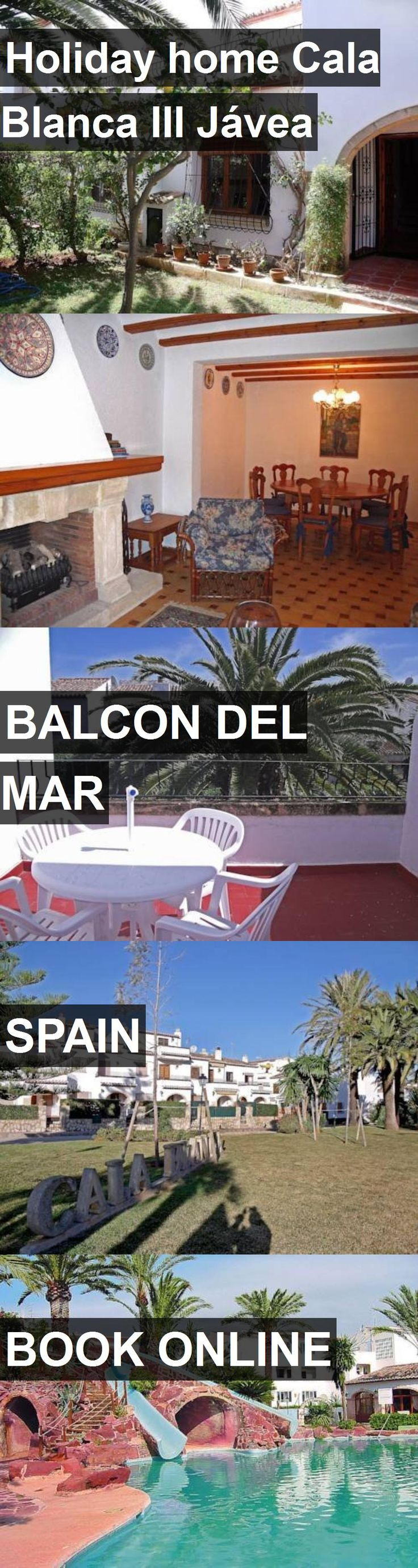 Hotel Holiday home Cala Blanca III Jávea in Balcon del Mar, Spain. For more information, photos, reviews and best prices please follow the link. #Spain #BalcondelMar #HolidayhomeCalaBlancaIIIJávea #hotel #travel #vacation