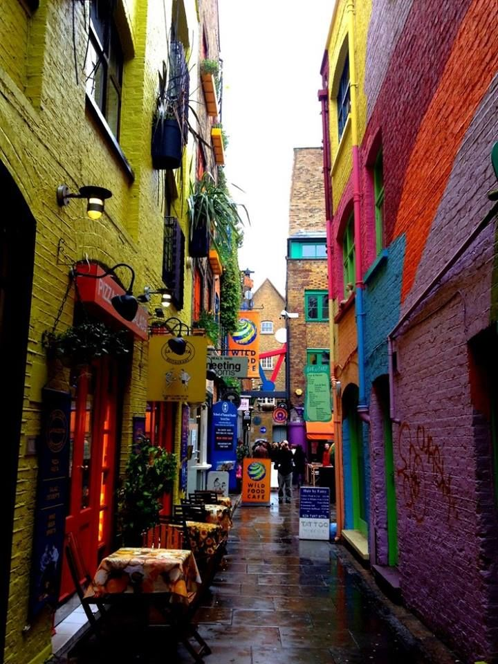 Neal's Yard, London, England