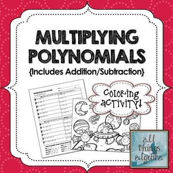 Best EducationAlgebra Polynomials Images On