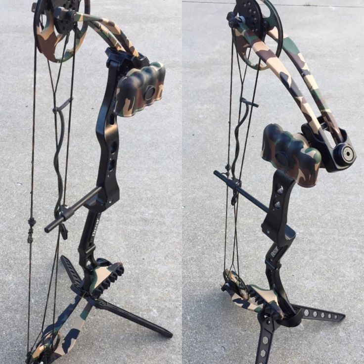 Hydro dipped youth compound bow