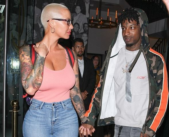 Meet the 24-year-old guy Amber Rose is dating now (what do you think?)