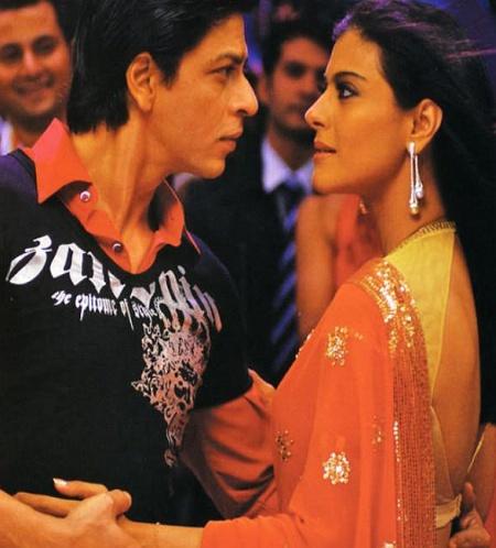 Shah Rukh and Kajol - Om Shanti Om - ॐ शांति ॐ - (2007)