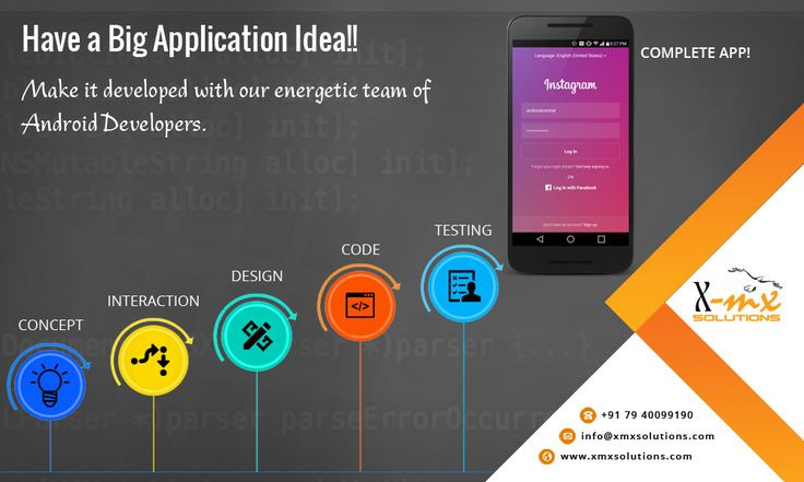 Have a Big #Mobile #Application Idea Make it developed with our energetic team of #Android Developers.  #mobileappsdevelopment #mobileapps #mobileapplication