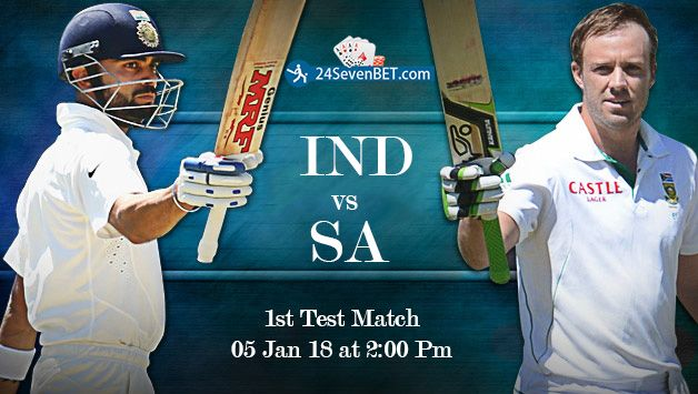 1st Test #Cricket Match Between Worlds Top 2 Teams. Predict Who Will Win This #Exciting Match #INDvsSA? Place free bet on your Favourite Team & Win Lots of Amazing #Prizes online 24sevenbet http://www.24sevenbet.com/betting/2/Cricket