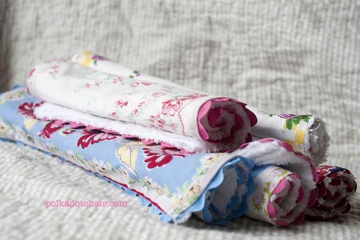 Repurpose: Vintage linens …