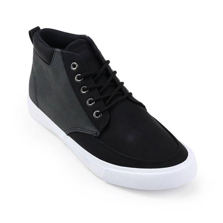 Unionbay Coupeville Men's High Top Sneakers, Size: medium (7.5), Black