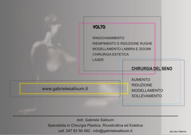 concept communication customer: dott. gabriele salloum, plastic surgeon