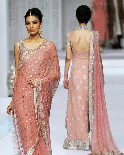 Indian Bridal Dress: Delicate, Fairytale Pink! | Indian Weddings: Trousseau by Soma Sengupta