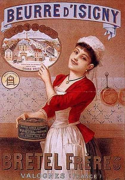 beurre d isigny 1900 advertenties posters vintage pinterest beurre affiches et. Black Bedroom Furniture Sets. Home Design Ideas