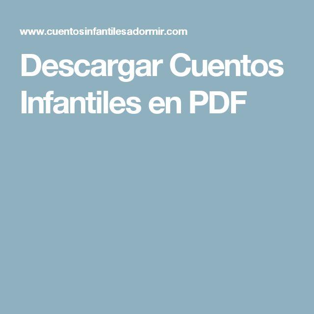 Descargar Cuentos Infantiles en PDF