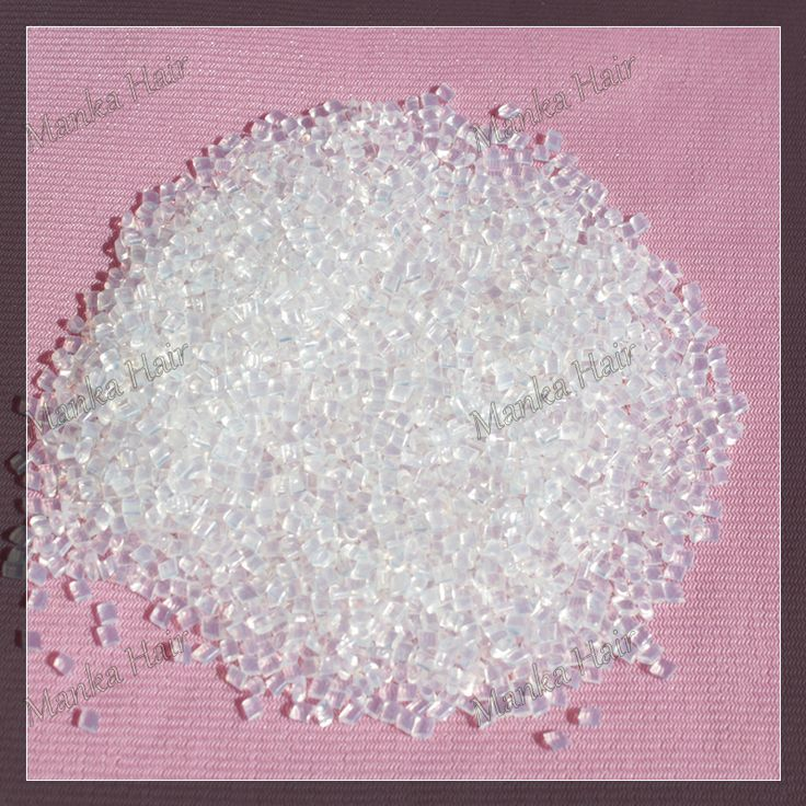 Promotion 50g/lot Clear Color 100% Italian Keratin Glue In Grain/Beads/Granule For Hair Extension Free Shipping