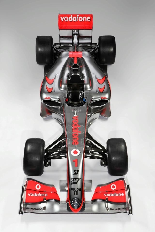 2009 McLaren Mercedes Vodafone MP4-24