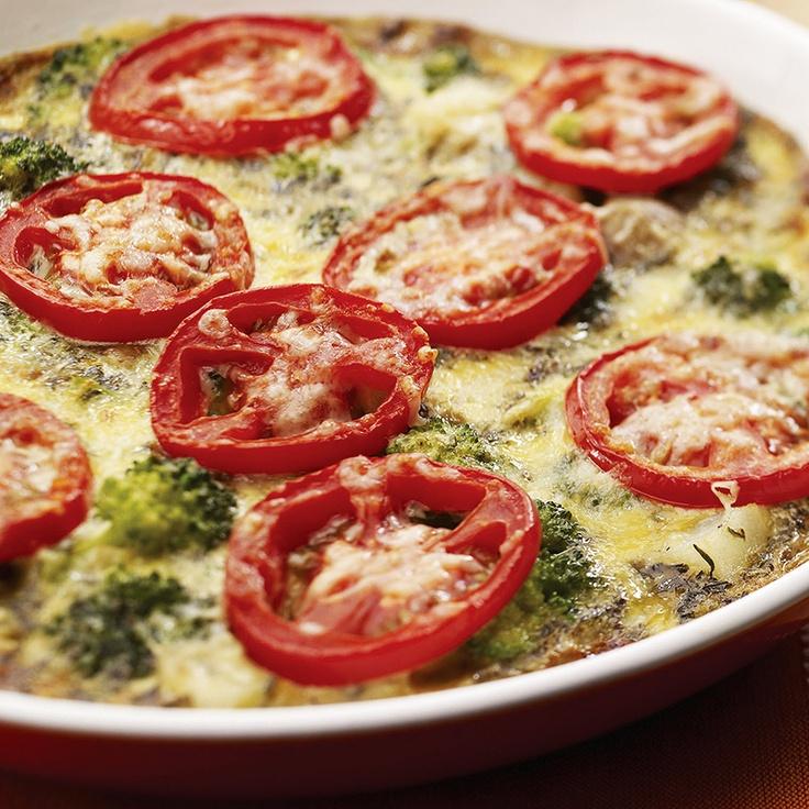 BREAKFAST / BRUNCH: Broccoli and Potato Frittata. I always love ...