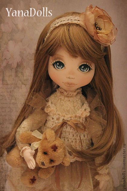 Коллекционные куклы ручной работы. Ярмарка Мастеров - ручная работа Celine. Handmade.