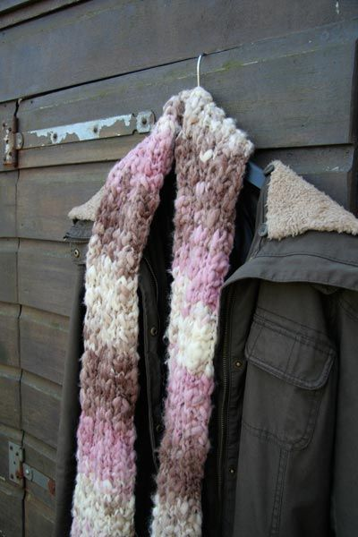 Zelf warme sjaal breien | www.schildertuin.nl