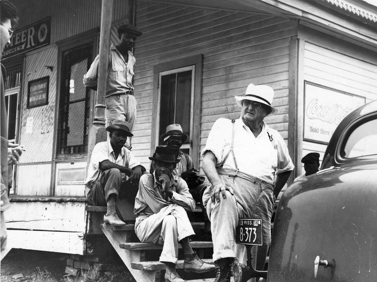 Plantation Overseer And His Field Hands, Mississippi Delta