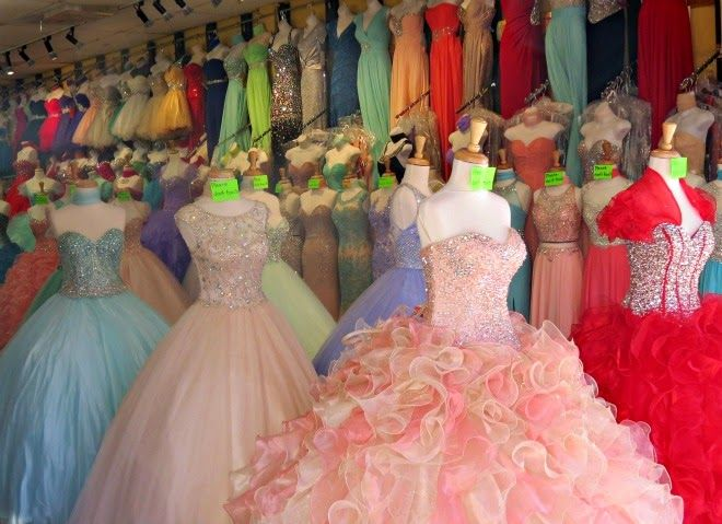 Where To Shop For Prom Dresses In Downtown LA