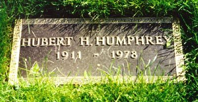 "Hubert  Humphrey (1911 - 1978) Former US vice president and US senator from Minnesota, known as the ""Happy Warrior"""