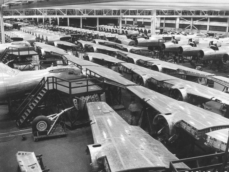 Glenn Martin assembly plant