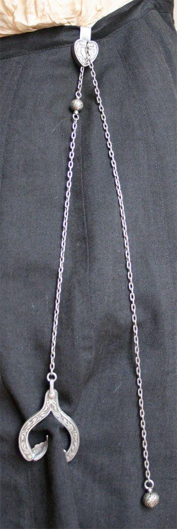The Grappler adjustable dress hem holder, 1900s.