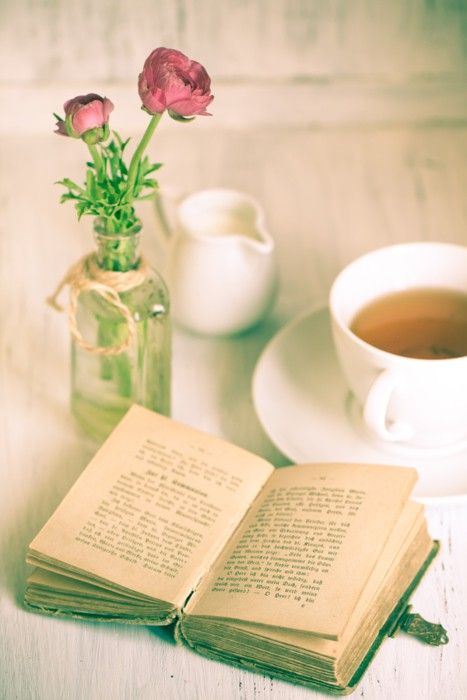 Reading With A Cup Of Tea ||