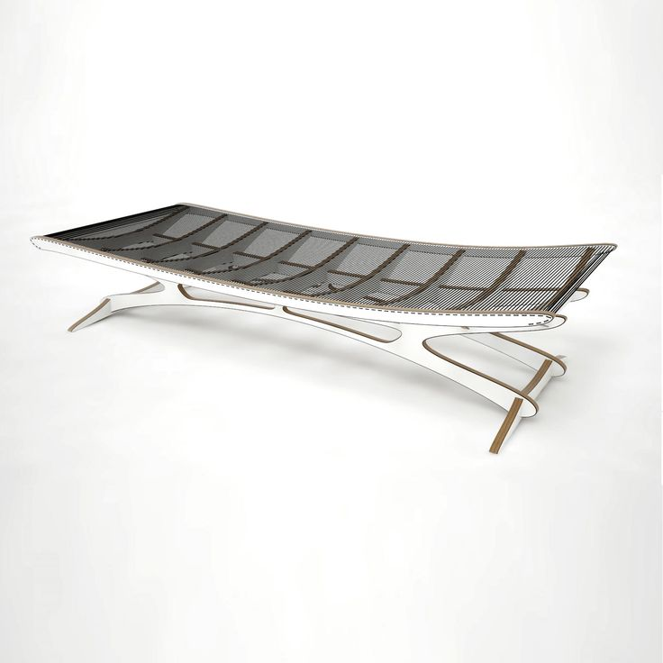 SUMMER COLLECTION > This astonishing piece of art is a modern Daybed interpretation inspired by Danish designer Helge Vestergaard Jensen in 1955. The daybed has a light and dynamic expression, and because of the transparent line construction the skeleton-like framework appears visible from above - just amazing!   Available on our e-boutique at www.greendesigngallery.com/products/qvist-daybed in collab w/illustrious furniture designer/architect @peterqvist #contemporary #designer #design…