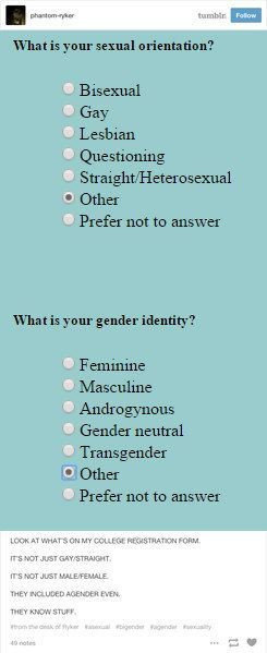 23 Times Tumblr Cleverly Explained What Being Genderqueer Means | Genderqueer, Colleges and Tumblr