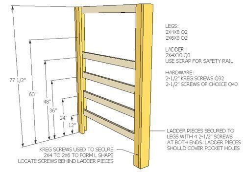 Full Size Loft Bed (February 2013) - by JSB @ LumberJocks.com ~ woodworking community