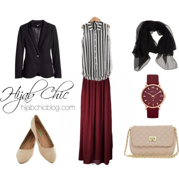Untitled #25 by hijab-chic, via Polyvore
