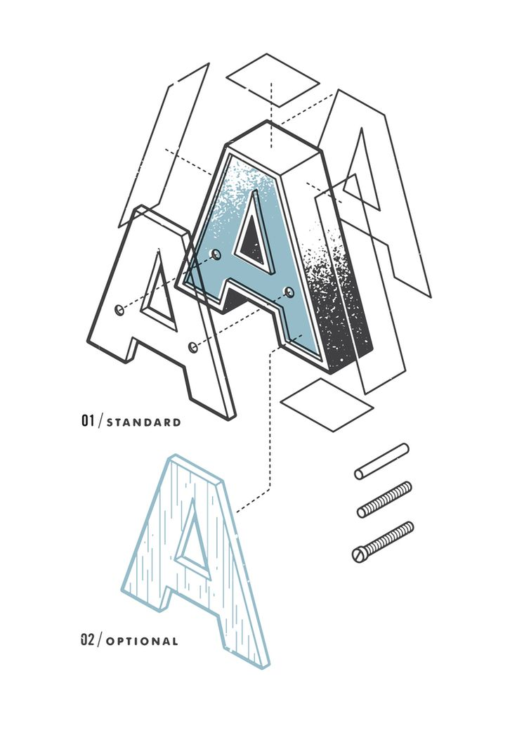 The Exploded Alphabet