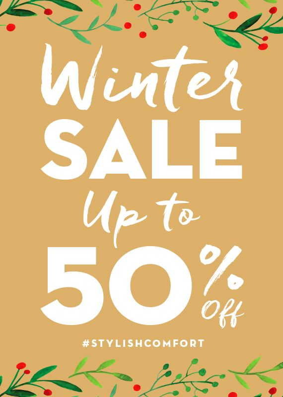 It's time for our WINTER ❄️ SALE // Shop with us in-store or online at http://ingledews.com  for deals up to 50% OFF! #stylishcomfort