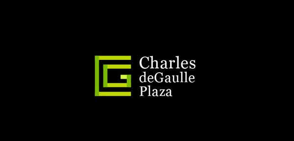 Charles de Gaulle office building logo by Corina Rosca  http://www.behance.net/gallery/Logos-2010-2012/8731811
