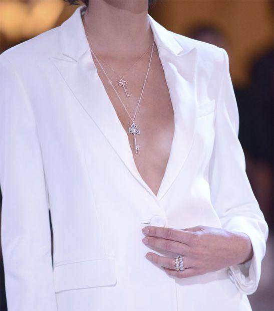 A Tiffany & Co. participou do desfile de joias comentado pelas diretoras de Estilo e de Moda da Vogue Brasil, Donata Meirelles e Barbara Migliori.