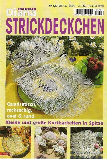 Diana Special - D 736 Strickdeckchen - Alex Gold - Picasa Web Albums