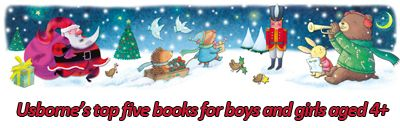 http://usbornepublishing.tumblr.com/post/102601046320/usbornes-top-five-christmas-gifts-for-boys-and-girls Usborne's pick of the five best Christmas gifts for boys and girls aged 4+   #gift #guide #presents #Christmas #Christmas2014 #festive #giftguide #boys #girls #aged4+ #age #four #five #bargain #children #books #Usborne #free #delivery #ideas