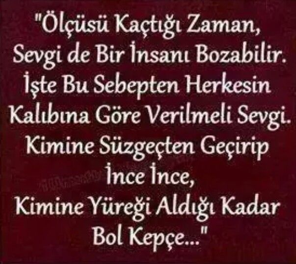 İnce ince.