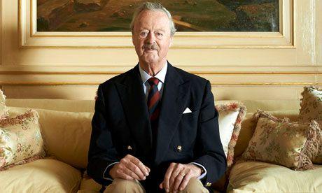 John George Vanderbilt Henry Spencer-Churchill, 11th Duke of Marlborough. Grandson of Consuelo Vanderbilt Balsan and currently master of the Spencer-Churchill family's ancestral estate, Blenheim Palace, Oxfordshire, England.