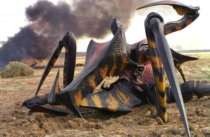 """Academy Award Nominated For Best Visual Effects On """"Starship Troopers"""", ..."""