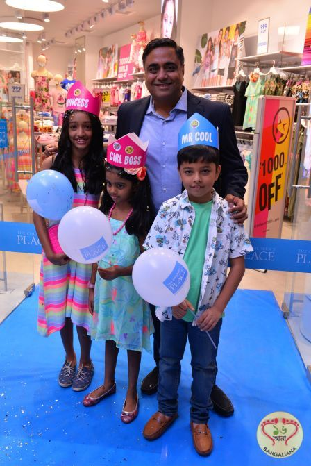 86d553a38be5 America's largest specialty retailer of children's apparel and accessories, The  Children's Place, launched its first ever store at South City Mall in ...