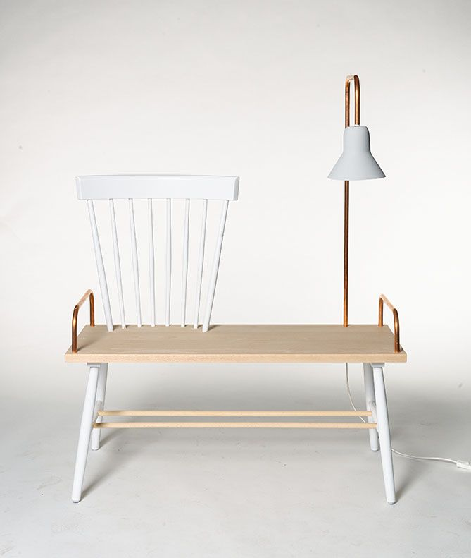 #chaise #banc #luminaire http://cargocollective.com/marcelossendrijver/