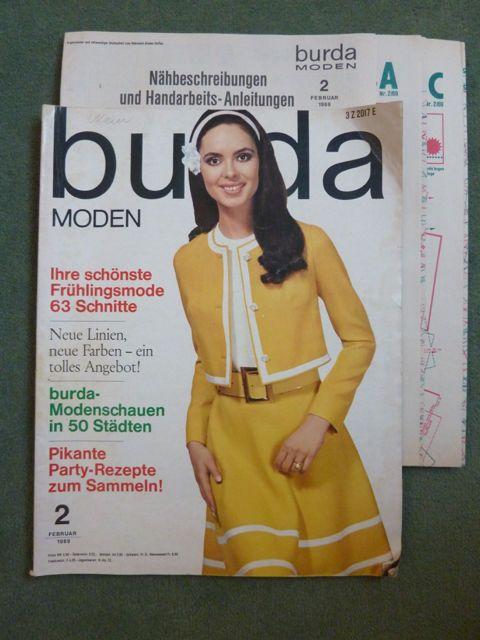 Burda Moden 2/1969, Schnittbogen+Arbeitsanleitung in Bücher, Zeitschriften, Frauenzeitschriften | eBay