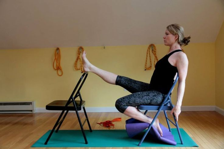 16 best iyengar yoga chair seated poses images on for Chaise yoga iyengar