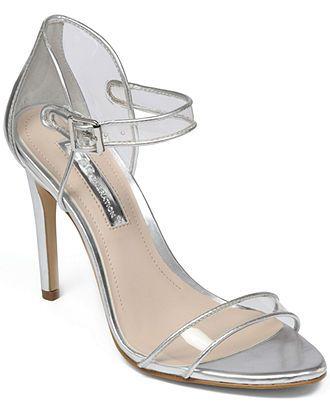 BCBGeneration Jakalyn Lucite Sandals - Sandals - Shoes - Macy's