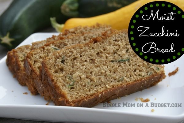 zucchini bread- I just used this recipe, used 1 cup packed zucchini and about a cup of sliced apples, I think it would also be good with banana in place of some of the oil maybe