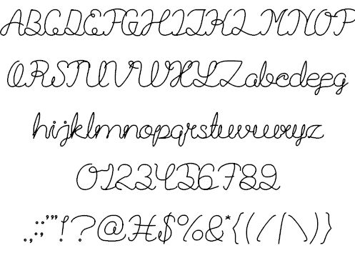 Image for Billy Jean Style font