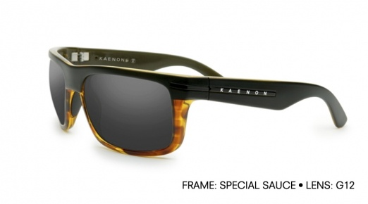 "Kaenon Sunglasses honors Garrett ""G.Love"" Dutton with Burnet Special Sauce shades. $239."