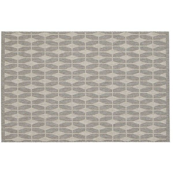 Crate & Barrel Aldo Dove Grey Indoor-Outdoor 4'x6' Rug (135 CAD) ❤ liked on Polyvore featuring home, rugs, tapet, crate and barrel area rugs, pattern rug, crate and barrel rugs, indoor outdoor rugs e crate and barrel