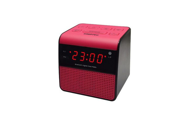 Sinotec Clock Radio And Bluetooth Speaker - Pink | Buy Online in South Africa | takealot.com
