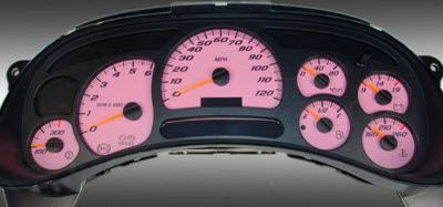 Pink Truck Accessories | US Speedo Pink Daytona Edition Gauge Face for 2003 and up